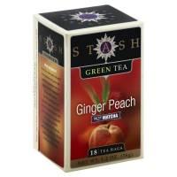 Stash Tea - Stash Tea Ginger Peach with Matcha Tea 18 bag