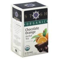 Stash Tea - Stash Tea Organic Chocolate Orange Herbal Tea 18 bag
