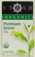 Stash Tea - Stash Tea Organic Premium Green Tea 18 bag