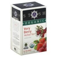 Stash Tea - Stash Tea Organic Very Berry Herbal Tea 18 bag