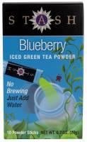 Stash Tea - Stash Tea Powdered Green Ice Tea Blueberry 10 bag