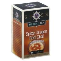 Stash Tea - Stash Tea Spice Dragon Red Chai Tea Caffeine Free 18 bag
