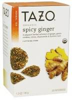 Tazo Tea - Tazo Tea Organic Hot & Spicy Ginger Tea