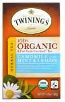 Twinings Tea - Twinings Tea Chamomile Mint Lemon Tea20 Bags
