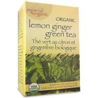 Uncle Lee's Tea - Uncle Lee's Tea 100% Imperial Organic Lemon Ginger Green Tea 18 bag