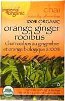 Uncle Lee's Tea - Uncle Lee's Tea 100% Imperial Organic Orange Ginger Rooibos Chai Tea 18 bag