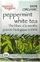Uncle Lee's Tea - Uncle Lee's Tea 100% Imperial Organic Peppermint White Tea 18 bag