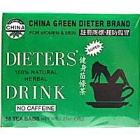 Uncle Lee's Tea - Uncle Lee's Tea Dieters Tea China Green 18 bag