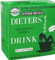 Uncle Lee's Tea - Uncle Lee's Tea Dieters Tea China Green 30 bag