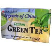 Uncle Lee's Tea - Uncle Lee's Tea Legends of China Lemon Tea 100 bag