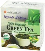 Uncle Lee's Tea - Uncle Lee's Tea Legends Of China Organic Green Tea 40 bag