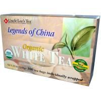 Uncle Lee's Tea - Uncle Lee's Tea Legends Of China Organic White Tea 100 bag