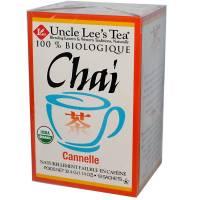 Uncle Lee's Tea - Uncle Lee's Tea Organic Chai Cinnamon 18 bag
