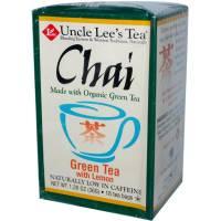 Uncle Lee's Tea - Uncle Lee's Tea Organic Chai Green Tea Lemon 18 bag