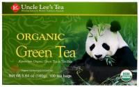 Uncle Lee's Tea - Uncle Lee's Tea Organic Green Tea 100 bag
