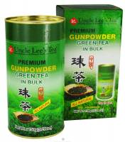 Uncle Lee's Tea - Uncle Lee's Tea Premium Bulk Gunpowder Green Tea 5.29 oz