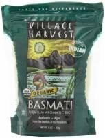 Village Harvest Indian Organic Basmati Rice 16 oz (6 Pack)