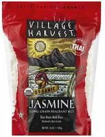 Village Harvest Organic Thai Jasmine Rice 16 oz (6 Pack)