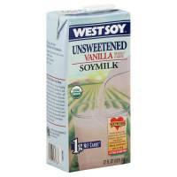 Westsoy - Westsoy Unsweetened Soymilk 32 oz - Vanilla (12 Pack)
