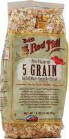 Bob's Red Mill 5 Grain Rolled Cereal 16 oz (4 Pack)