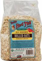 Grocery - Oatmeal - Bob's Red Mill - Bob's Red Mill Organic Rolled Regular Oats 16 oz (4 Pack)