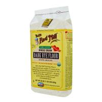 Grocery - Flour - Bob's Red Mill - Bob's Red Mill Organic Dark Rye Flour 22 oz (4 Pack)