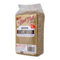 Bob's Red Mill Sesame Brown Seeds 16 oz (4 Pack)