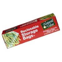 Home Products - Bags, Pouches & Boxes - Natural Value - Natural Value Reclosable Quart Storage Bags 25 ct (12 Pack)