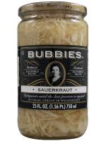 Grocery - Sauerkraut & Pickles - Bubbies - Bubbies Sauerkraut 25 oz