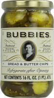 Grocery - Sauerkraut & Pickles - Bubbies - Bubbies Bread & Butter Chips 16 oz