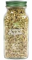 Simply Organic - Simply Organic Fennel Seed 1.9 oz