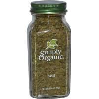 Simply Organic - Simply Organic Basil 0.54 oz
