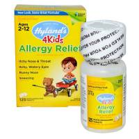 Homeopathy - Allergies & Sinus - Hylands - Hylands 4 Kids Allergy Relief 125 tab