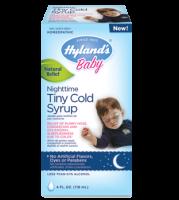 Hylands Baby Nighttime Tiny Cold Syrup 4 oz