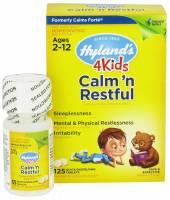 Homeopathy - Children - Hylands - Hylands 4 Kids Calm 'n Restful 125 tab