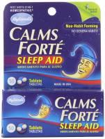 Homeopathy - Nerves & Stress - Hylands - Hylands Calms Forte 50 tab