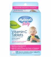 Homeopathy - Children - Hylands - Hylands Children's Vitamin C 125 tab