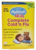 Homeopathy - Children - Hylands - Hylands 4 Kids Complete Cold n' Flu 125 tab