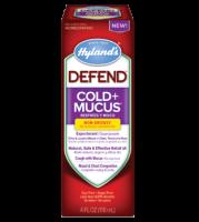 Hylands Defend Cold + Mucus 4 oz