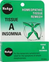 Homeopathy - Nerves & Stress - Hylands - Hylands NuAge Tissue A Insomnia 125 tab