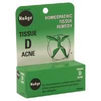 Homeopathy - Skin Care - Hylands - Hylands NuAge Tissue D Acne 125 tab