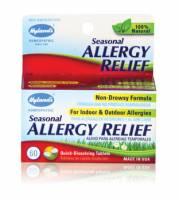 Homeopathy - Allergies & Sinus - Hylands - Hylands Seasonal Allergy 60 tab