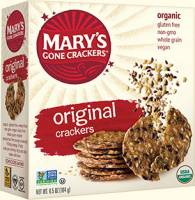 Grocery - Crackers - MARY`S GONE CRACKERS - Mary's Gone Crackers Organic Original 6.5 oz (12 Pack)
