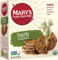 Grocery - Crackers - MARY`S GONE CRACKERS - Mary's Gone Crackers Herb 6.5 oz (12 Pack)