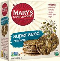 Grocery - Crackers - MARY`S GONE CRACKERS - Mary's Gone Crackers Super Seed 6.5 oz (12 Pack)