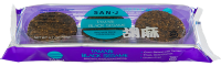 Grocery - Crackers - San-J - San-J Brown Rice Crackers - Tamari Black Sesame 3.7 oz  (6 Pack)