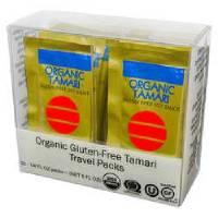 Gluten Free - Sauces & Spreads - San-J - San-J Organic Tamari Travel Packs 20 count (12 Pack)
