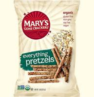 Grocery - Crackers - MARY`S GONE CRACKERS - Mary's Gone Crackers Everything Pretzels 7.5 oz (12 Pack)