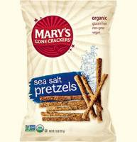 Grocery - Crackers - MARY`S GONE CRACKERS - Mary's Gone Crackers Sea Salt Pretzels 7.5 oz (12 Pack)