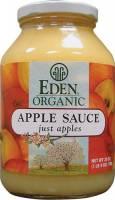 Grocery - Spreads - Eden Foods - Eden Foods Apple Sauce 25 oz (6 Pack)
